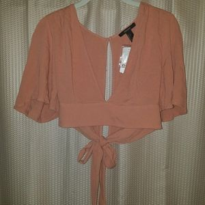 NEW Cropped Fancy Shrug Cardigan Top Forever21